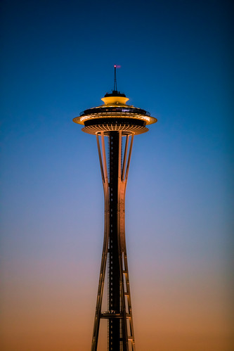 america seattle spaceneedle usa unitedstates unitedstatesofamerica washington washingtonstate sunset fav10 fav25 fav50 fav100