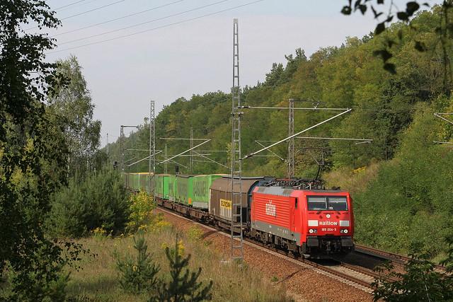 DB 189 004 +  TEC 42147 Rostock Seehafen - Verona - Bergholz Rehbrücke
