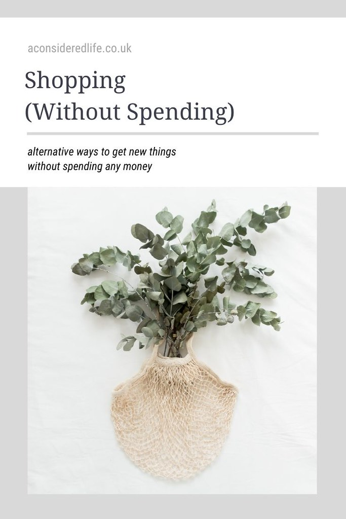 Shopping Without Spending