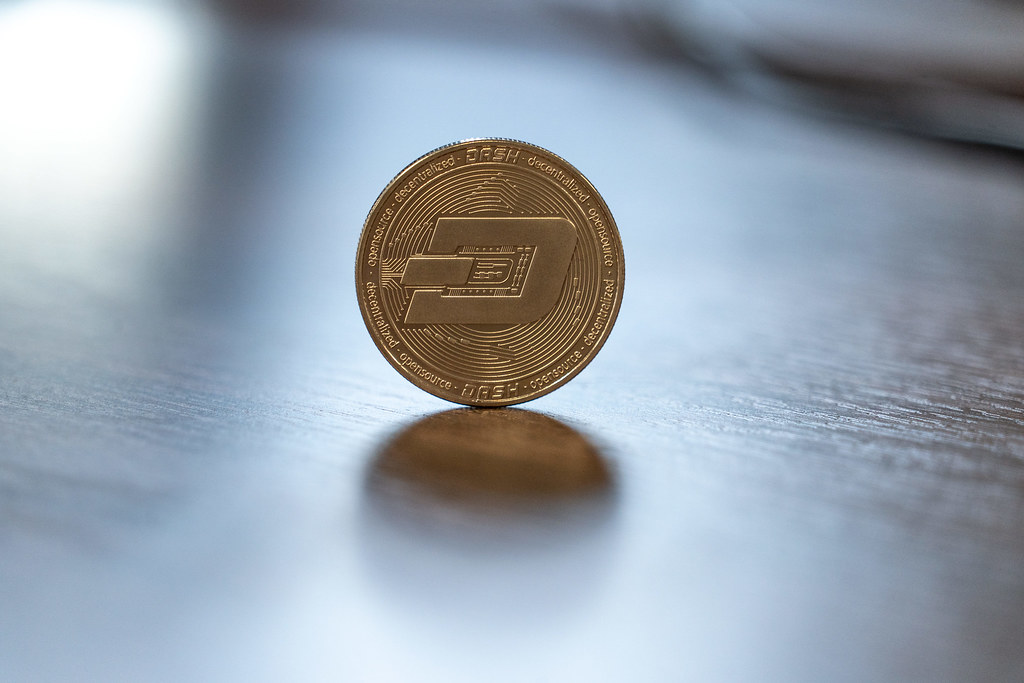Dash coin Cryptocurrency Medallion