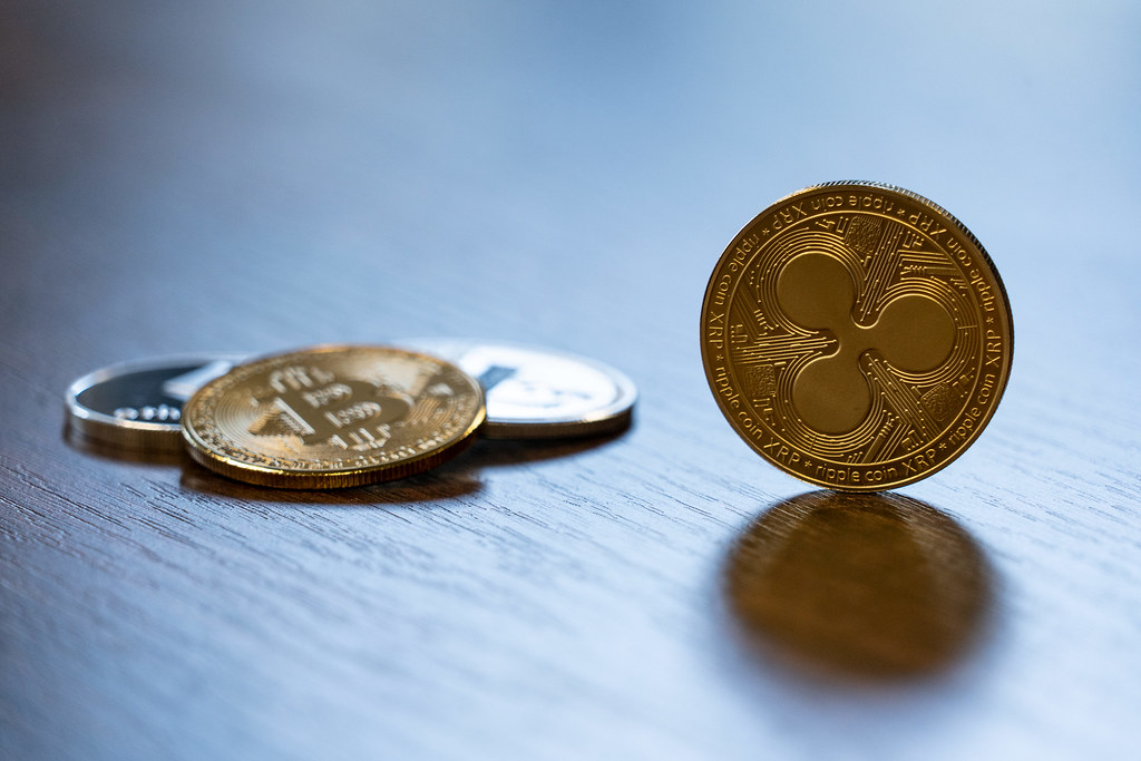 Ripple Coin Alternative Cryptocurrency Medallion