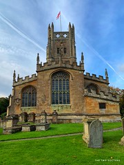 St Mary's Church, Fairford, Cotswolds, England