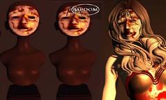 Baboom-Halloween mask