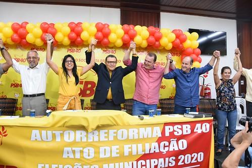 Ato de filiação em Cáceres (MT) - 25/10/2019