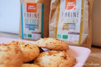 Cookies vanille pralin sans gluten 1