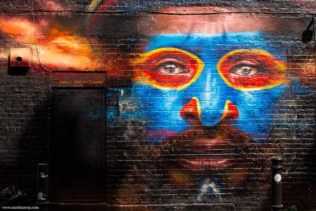 Street art by Dale Grimshaw cosa fare a Londra