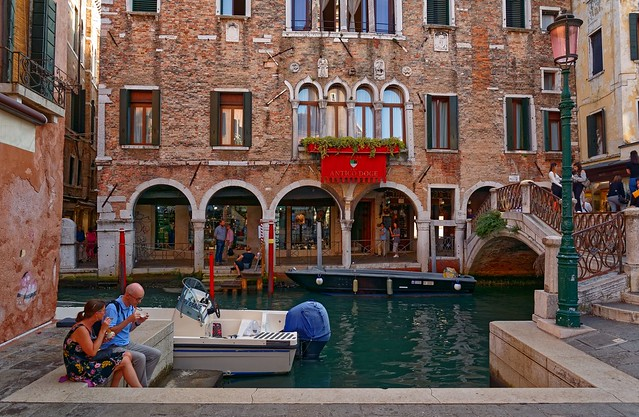 Venezia / Campo Santi Apostoli / Hotel Antico Doge / Yum ! Italian ice cream