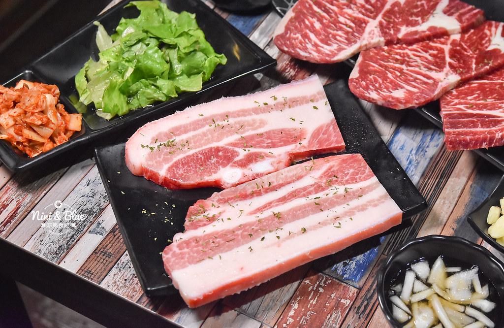 紅大福 韓國烤肉價位 台中吃到飽17