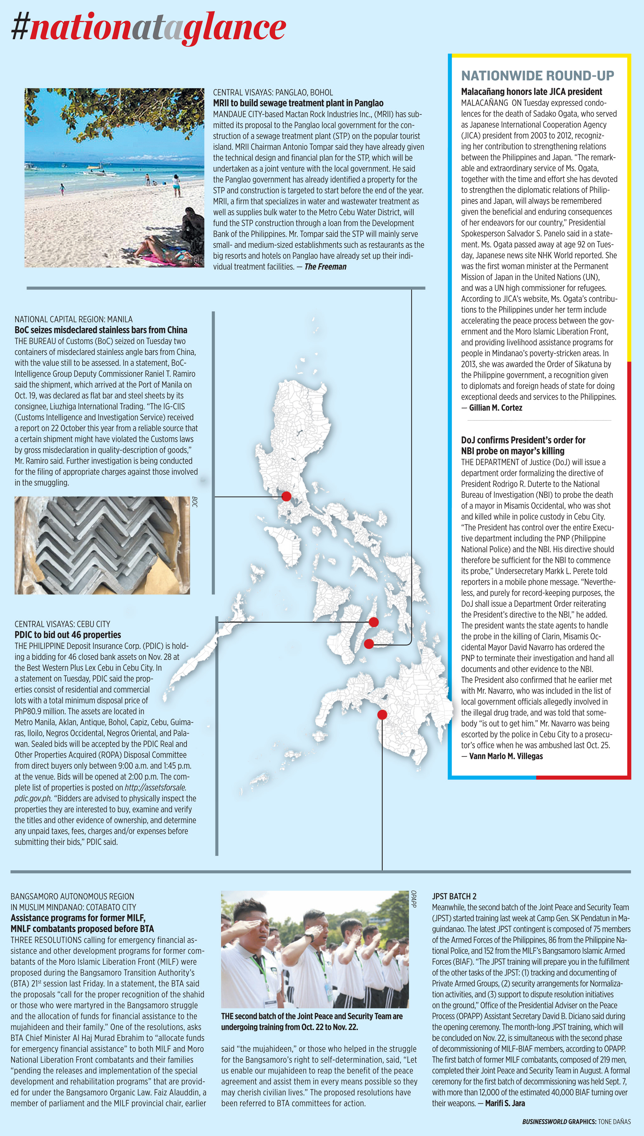Nation at a Glance — (10/30/19)