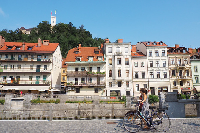Bike friendly, Ljubljana, Slovenia