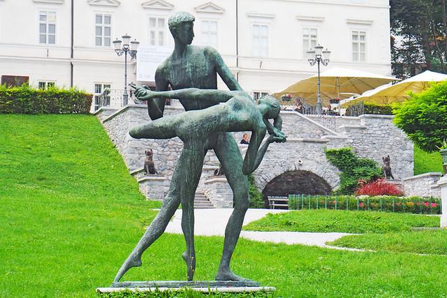 Sculptures, Tivoli Park, Ljubljana, Slovenia