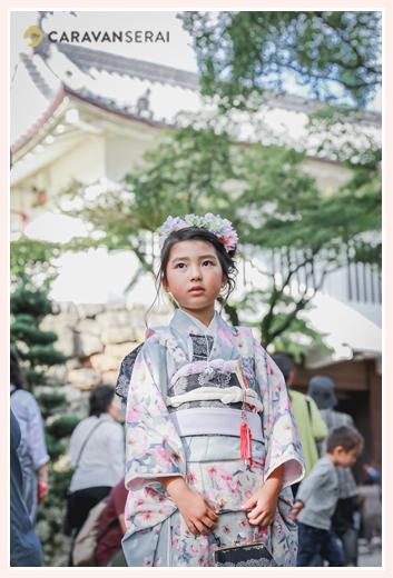 犬山城で七五三のロケーション撮影 愛知県犬山市