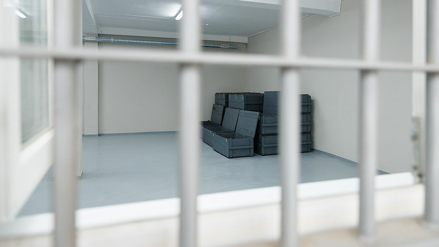 Upgrade improves security at the General Police Inspectorate's SALW and ammunition storage facility