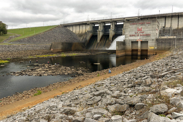 J. Percy Priest Dam, Stones River, Davidson County, Tennessee 7