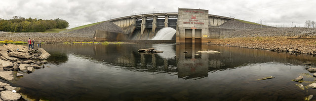 J. Percy Priest Dam, Stones River, Davidson County, Tennessee 6