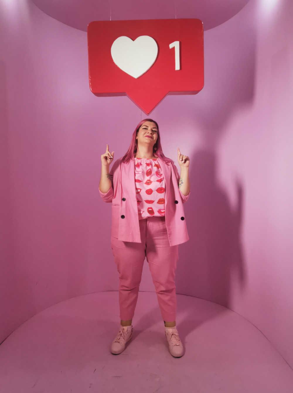 Curvycolorchallenge, come indossare il rosa (3)