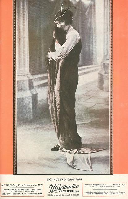 Capa de revista antiga | old magazine cover | ancienne couverture de magazine | 1912