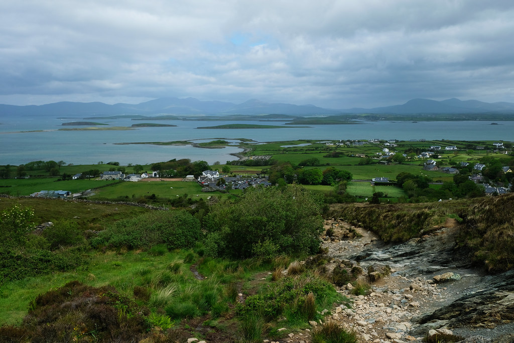 Hiking Croagh Patrick, Ireland