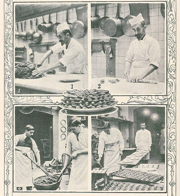 Foto antiga | old photo | Christmas pastry confection | 1912