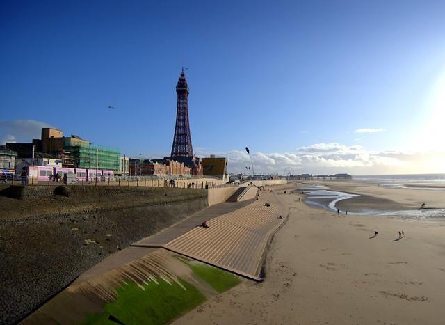 Sunny Blackpool out of season