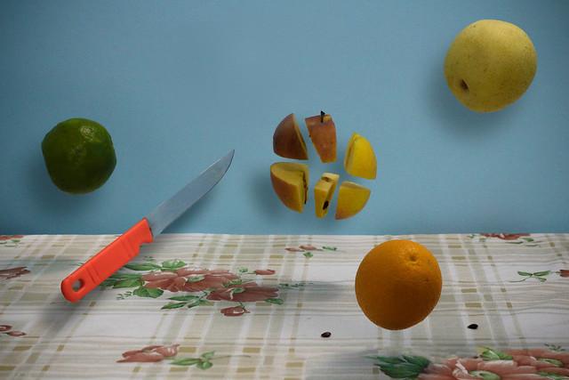 Fruit Ninja! (Fruit Levitation second attempt!)
