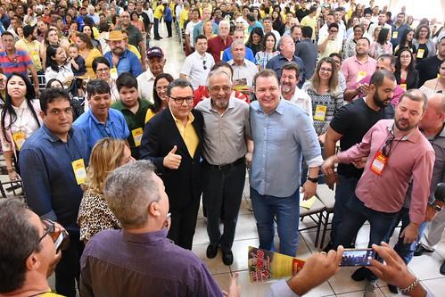 Ato de filiação e debate sobre autorreforma em Cuiabá (MT) - 26/10/2019-