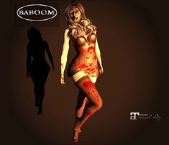 Baboom-Halloween blody dsress - stocking