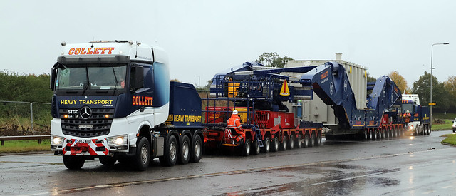 Trilogy of Transformers for Collett