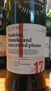 SMWS 37.126 - Madeira, Manuka and macerated plums