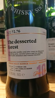 SMWS 72.76 - The desserted forest
