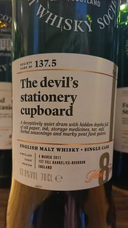 SMWS 137.5 - The devil's stationary cupboard