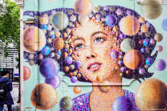 Street art by James Cochran (Jimmy C)