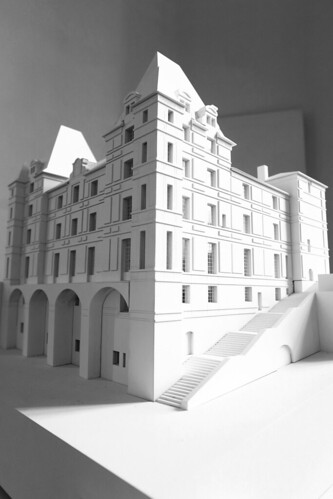 Projet de rénovation du musée Ingres, Maquette, agence Bach Nguyen architecture. From Come and discover the only Ingres Museum in the world