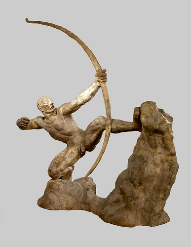 Héraklès Archer, 1909, Bourdelle. From Come and discover the only Ingres Museum in the world