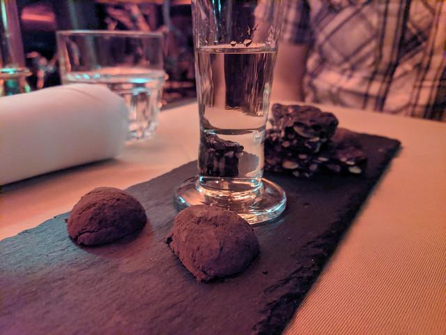 chocolate plate @ Flatiron Room