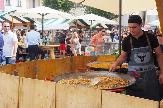 Odprta Kuhna (open kitchen) food market, Ljubljana, Slovenia