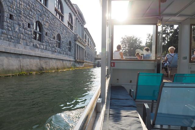 River cruise, Ljubljana, Slovenia