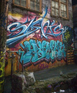 Back alley Downtown Eastside Vancouver