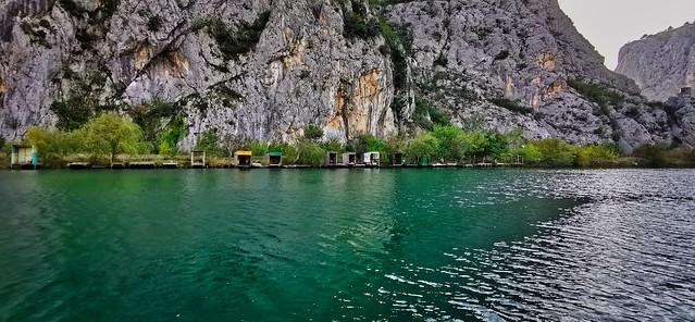 Kroatien - Bootsfahrt auf dem Cetina