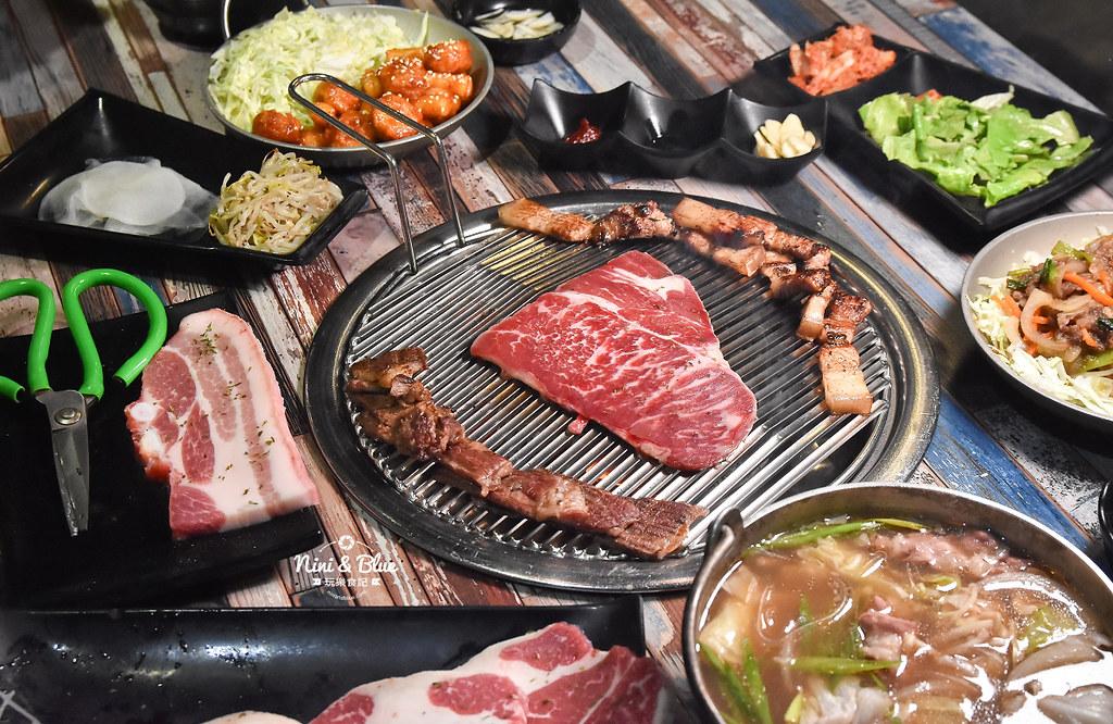 紅大福 韓國烤肉價位 台中吃到飽34