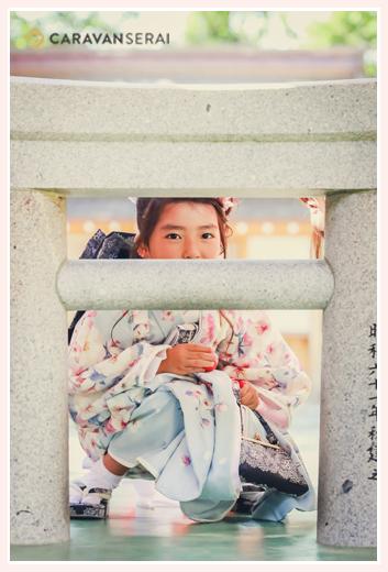 7歳の女の子の七五三 愛知県犬山市