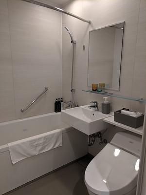 bathroom @ Mitsui Garden Hotel