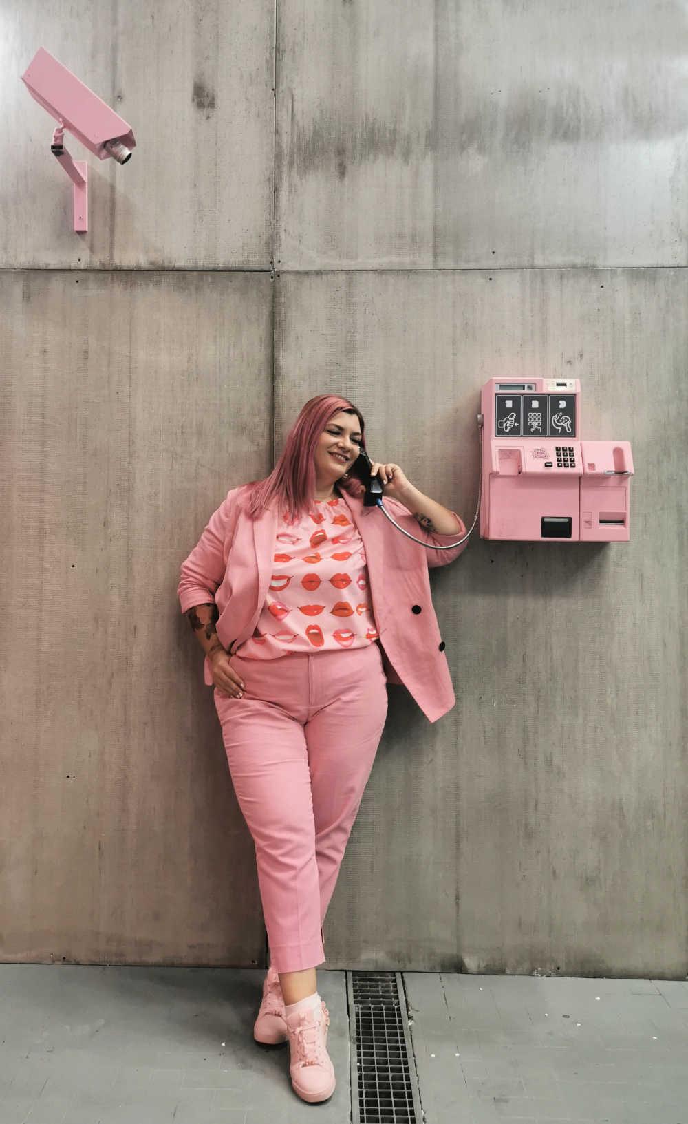 Curvycolorchallenge, come indossare il rosa (7)