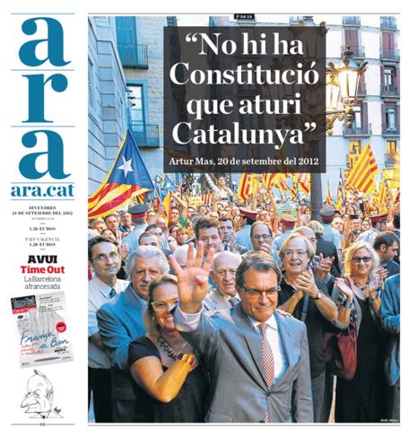 12i21 Ara No hay Constitución que pare a Cataluña