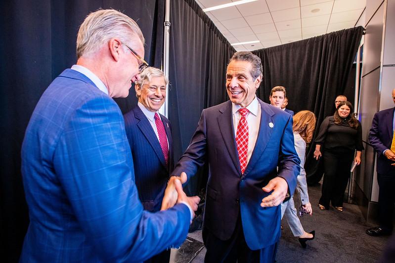 Ed Bastian & Governor Andrew Cuomo