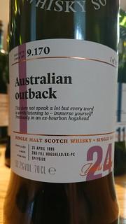 SMWS 9.170 - Australian outback