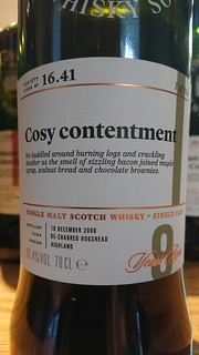 SMWS 16.41 - Cosy contentment