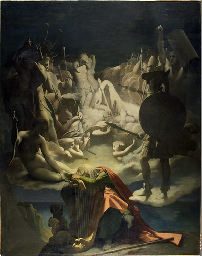 Le Songe d'Ossian, 1813. From Come and discover the only Ingres Museum in the world