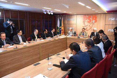 Reunião com deputados do PSB sobre autorreforma - 29/10/2019
