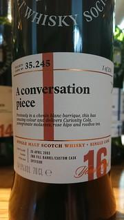 SMWS 35.245 - A conversation piece